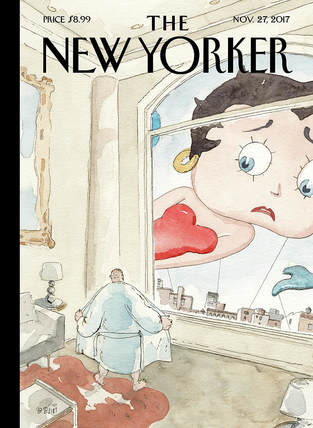 betty boop on the cover of the new yorker
